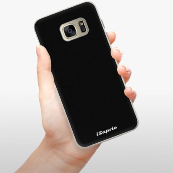 Silikonové pouzdro iSaprio - 4Pure - černý - Samsung Galaxy S7