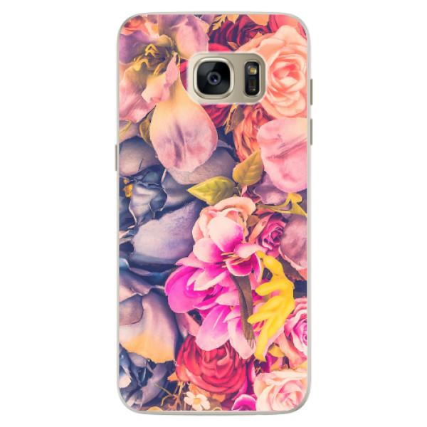Silikonové pouzdro iSaprio - Beauty Flowers - Samsung Galaxy S7