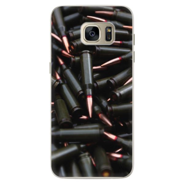 Silikonové pouzdro iSaprio - Black Bullet - Samsung Galaxy S7