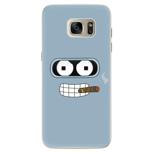 Silikonové pouzdro iSaprio - Bender - Samsung Galaxy S7