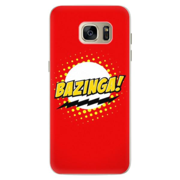 Silikonové pouzdro iSaprio - Bazinga 01 - Samsung Galaxy S7 Edge