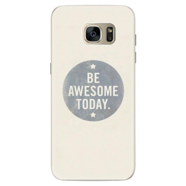 Silikonové pouzdro iSaprio - Awesome 02 - Samsung Galaxy S7 Edge