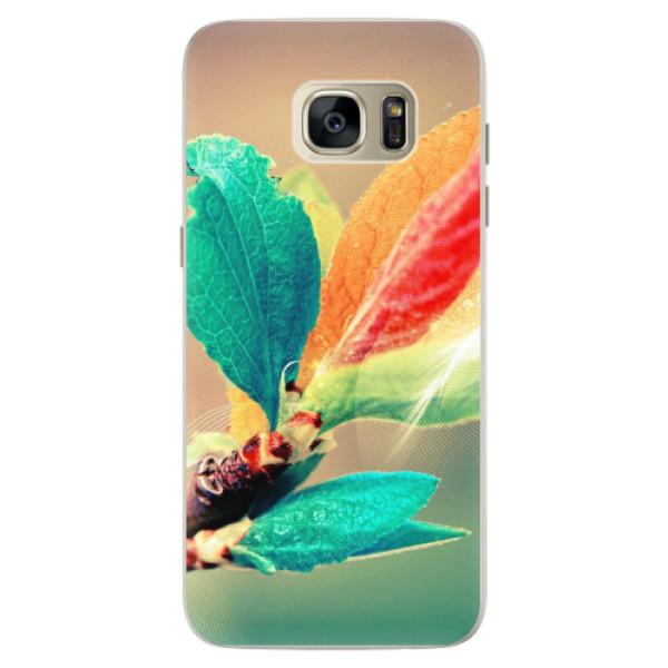 Silikonové pouzdro iSaprio - Autumn 02 - Samsung Galaxy S7 Edge