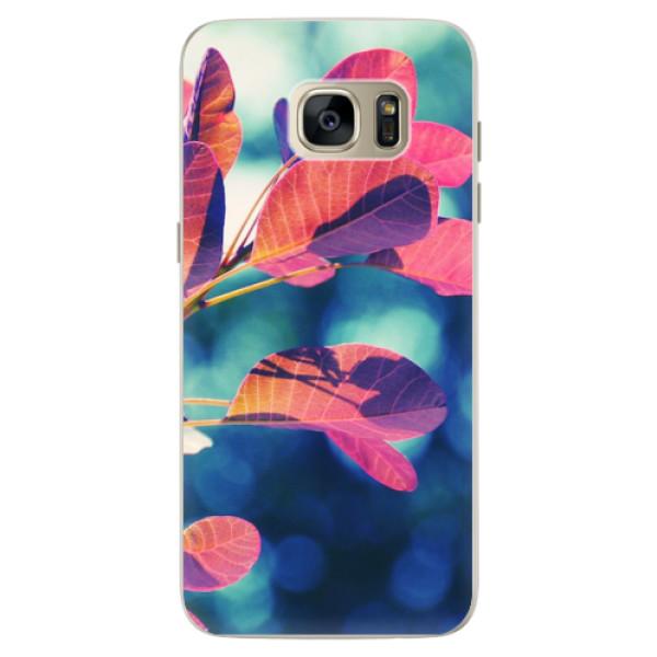 Silikonové pouzdro iSaprio - Autumn 01 - Samsung Galaxy S7 Edge