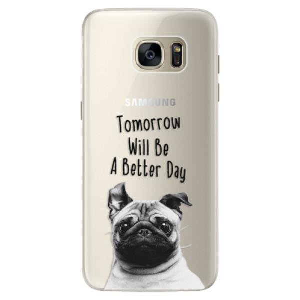 Silikonové pouzdro iSaprio - Better Day 01 - Samsung Galaxy S7 Edge