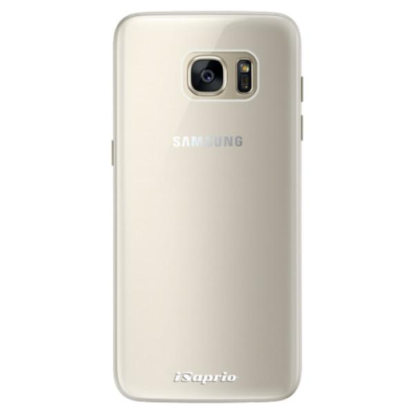 Silikonové pouzdro iSaprio - 4Pure - mléčný bez potisku - Samsung Galaxy S7 Edge