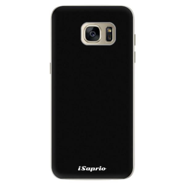 Silikonové pouzdro iSaprio - 4Pure - černý - Samsung Galaxy S7 Edge