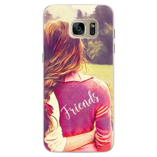 Silikonové pouzdro iSaprio - BF Friends - Samsung Galaxy S7 Edge