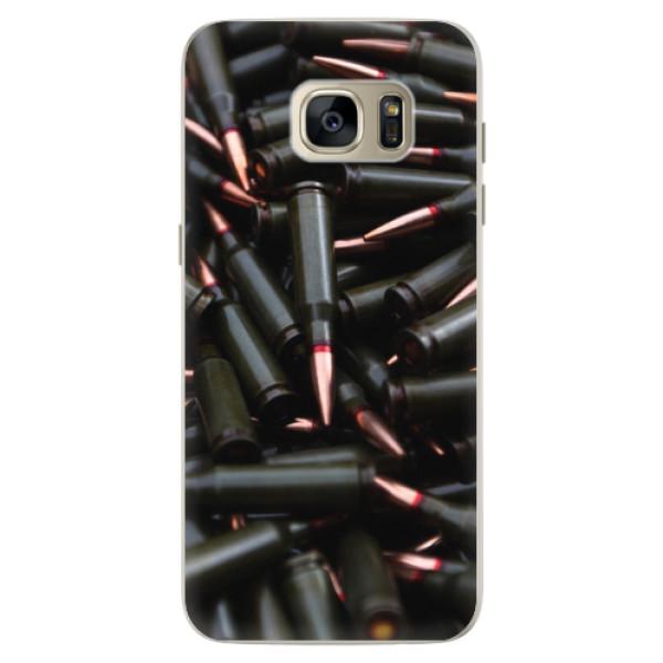 Silikonové pouzdro iSaprio - Black Bullet - Samsung Galaxy S7 Edge