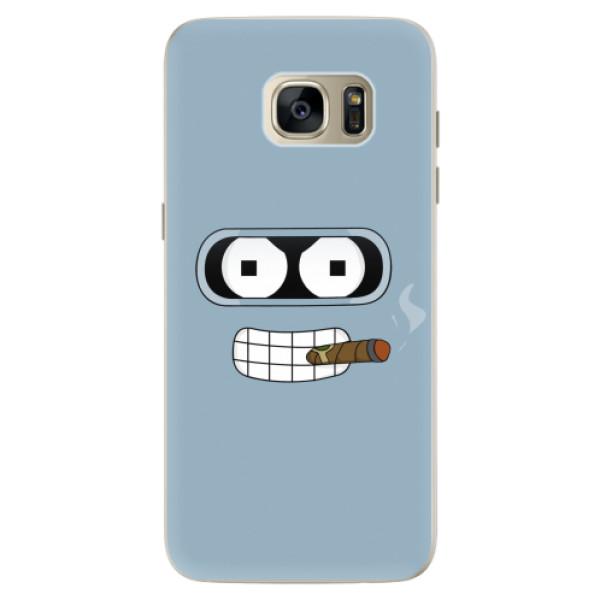 Silikonové pouzdro iSaprio - Bender - Samsung Galaxy S7 Edge