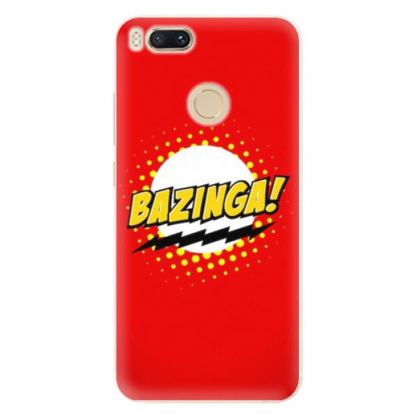 Silikonové pouzdro iSaprio - Bazinga 01 - Xiaomi Mi A1