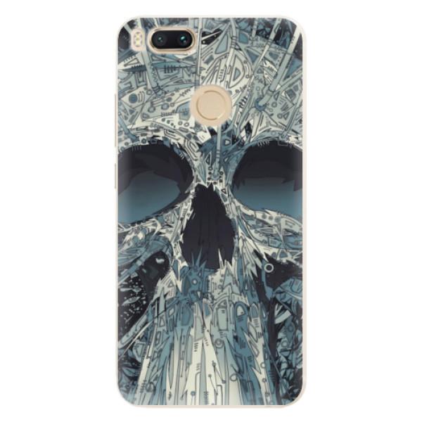 Silikonové pouzdro iSaprio - Abstract Skull - Xiaomi Mi A1