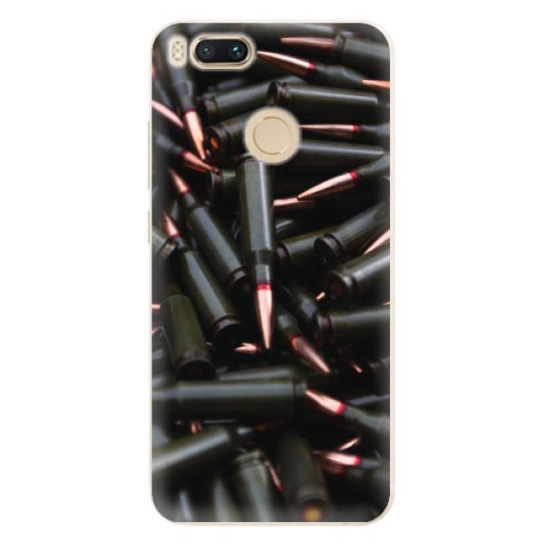 Silikonové pouzdro iSaprio - Black Bullet - Xiaomi Mi A1