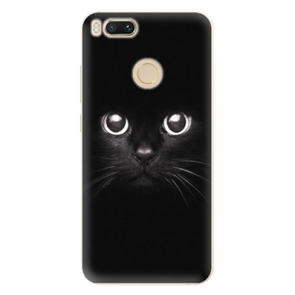 Silikonové pouzdro iSaprio - Black Cat - Xiaomi Mi A1