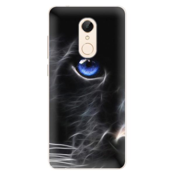 Silikonové pouzdro iSaprio - Black Puma - Xiaomi Redmi 5