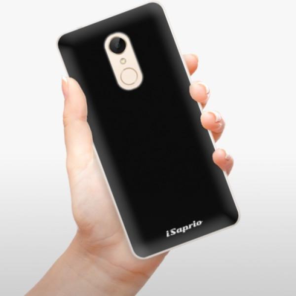 Silikonové pouzdro iSaprio - 4Pure - černý - Xiaomi Redmi 5