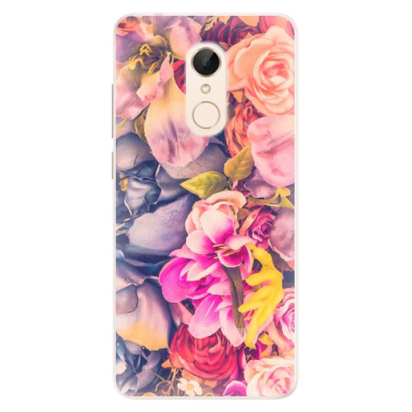 Silikonové pouzdro iSaprio - Beauty Flowers - Xiaomi Redmi 5