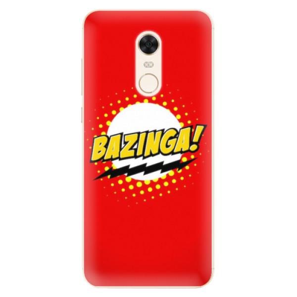 Silikonové pouzdro iSaprio - Bazinga 01 - Xiaomi Redmi 5 Plus
