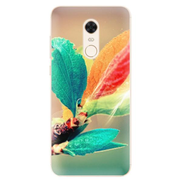 Silikonové pouzdro iSaprio - Autumn 02 - Xiaomi Redmi 5 Plus