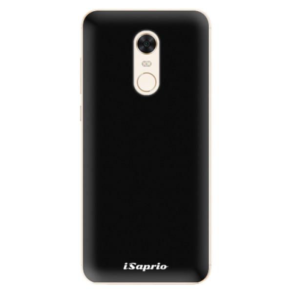 Silikonové pouzdro iSaprio - 4Pure - černý - Xiaomi Redmi 5 Plus