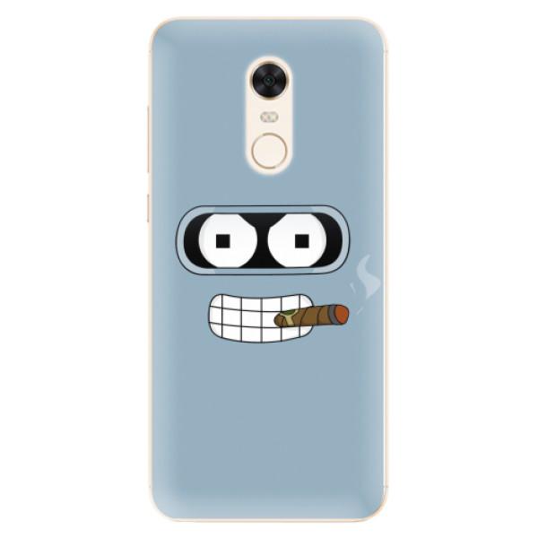 Silikonové pouzdro iSaprio - Bender - Xiaomi Redmi 5 Plus