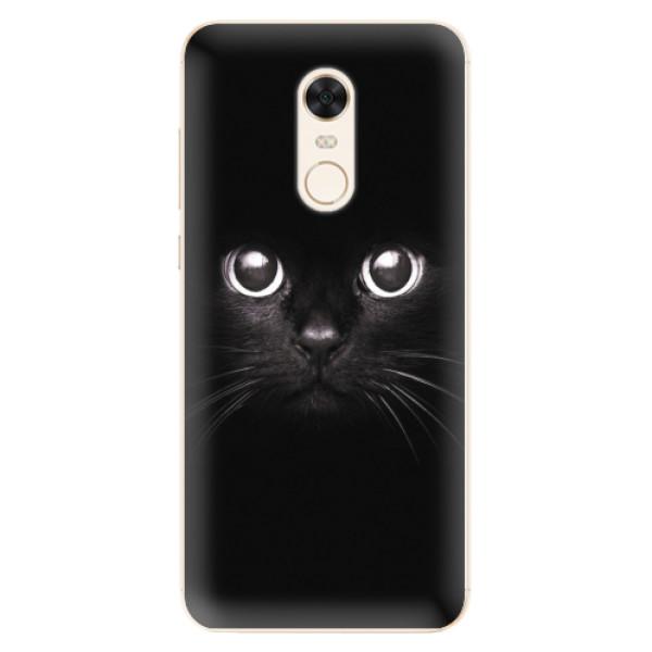 Silikonové pouzdro iSaprio - Black Cat - Xiaomi Redmi 5 Plus