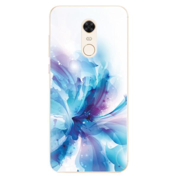 Silikonové pouzdro iSaprio - Abstract Flower - Xiaomi Redmi 5 Plus