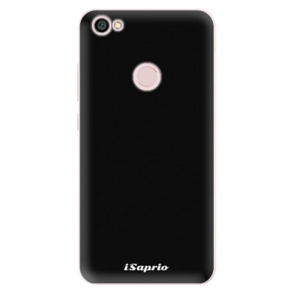 Silikonové pouzdro iSaprio - 4Pure - černý - Xiaomi Redmi Note 5A / 5A Prime