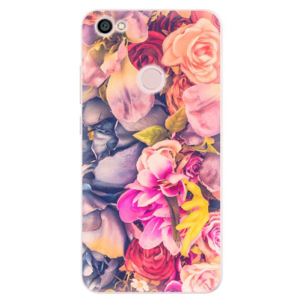 Silikonové pouzdro iSaprio - Beauty Flowers - Xiaomi Redmi Note 5A / 5A Prime