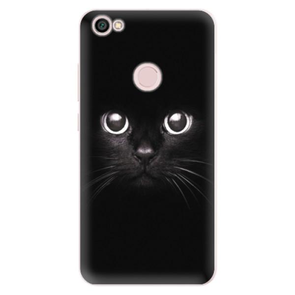 Silikonové pouzdro iSaprio - Black Cat - Xiaomi Redmi Note 5A / 5A Prime