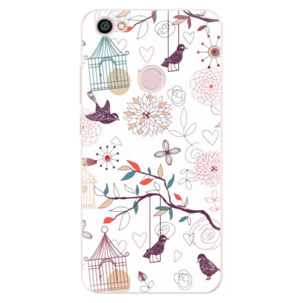 Silikonové pouzdro iSaprio - Birds - Xiaomi Redmi Note 5A / 5A Prime