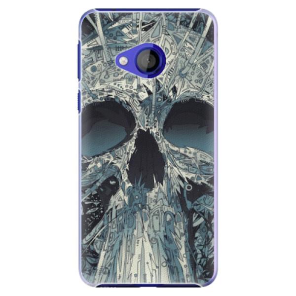 Plastové pouzdro iSaprio - Abstract Skull - HTC U Play