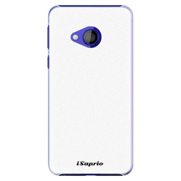 Plastové pouzdro iSaprio - 4Pure - bílý - HTC U Play