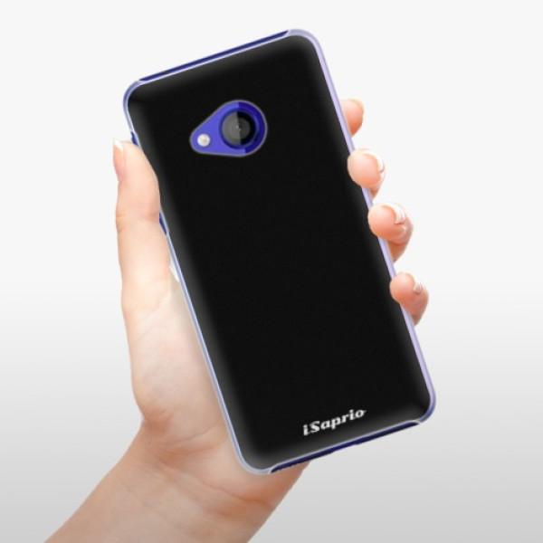 Plastové pouzdro iSaprio - 4Pure - černý - HTC U Play