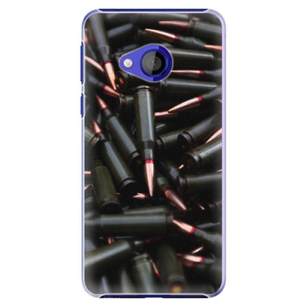 Plastové pouzdro iSaprio - Black Bullet - HTC U Play