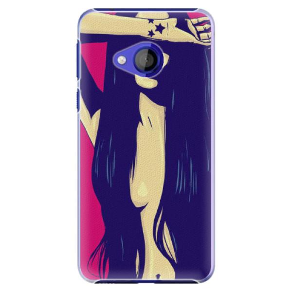 Plastové pouzdro iSaprio - Cartoon Girl - HTC U Play