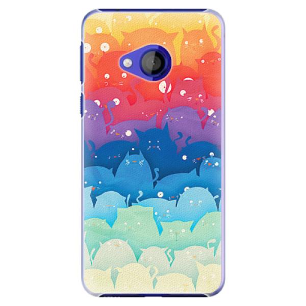 Plastové pouzdro iSaprio - Cats World - HTC U Play