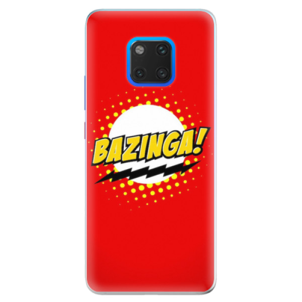 Silikonové pouzdro iSaprio - Bazinga 01 - Huawei Mate 20 Pro