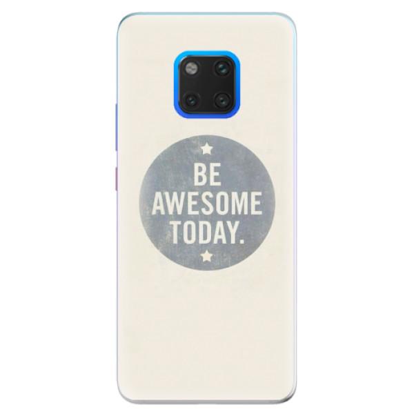 Silikonové pouzdro iSaprio - Awesome 02 - Huawei Mate 20 Pro