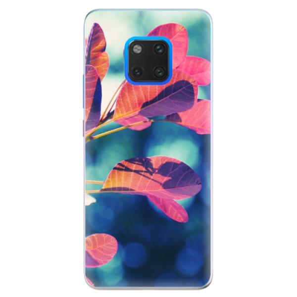 Silikonové pouzdro iSaprio - Autumn 01 - Huawei Mate 20 Pro