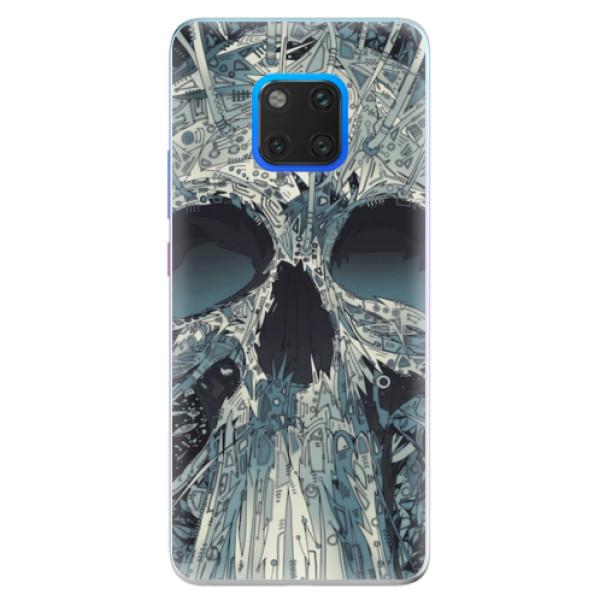 Silikonové pouzdro iSaprio - Abstract Skull - Huawei Mate 20 Pro