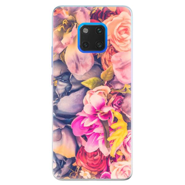 Silikonové pouzdro iSaprio - Beauty Flowers - Huawei Mate 20 Pro
