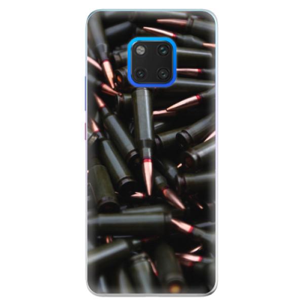 Silikonové pouzdro iSaprio - Black Bullet - Huawei Mate 20 Pro