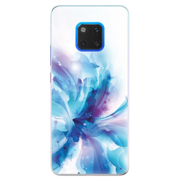 Silikonové pouzdro iSaprio - Abstract Flower - Huawei Mate 20 Pro