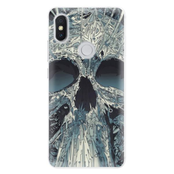 Silikonové pouzdro iSaprio - Abstract Skull - Xiaomi Redmi S2