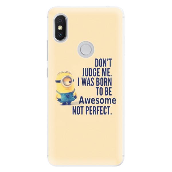 Silikonové pouzdro iSaprio - Be Awesome - Xiaomi Redmi S2