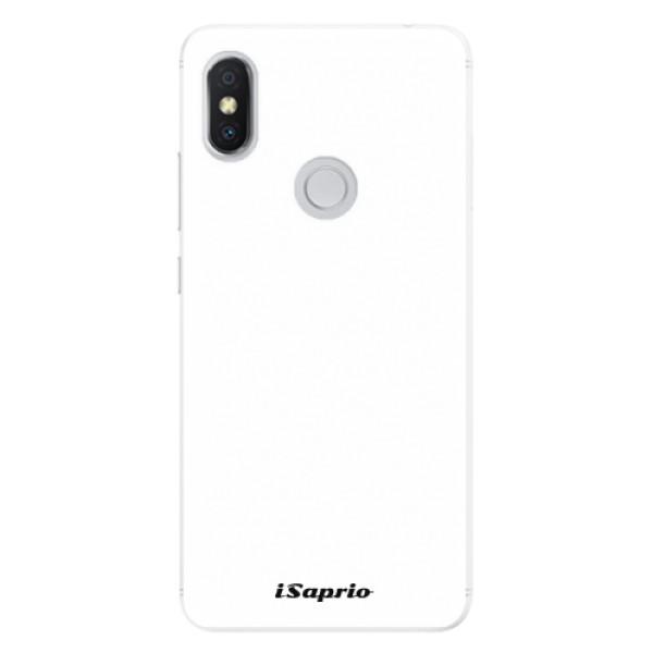 Silikonové pouzdro iSaprio - 4Pure - bílý - Xiaomi Redmi S2