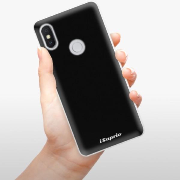 Silikonové pouzdro iSaprio - 4Pure - černý - Xiaomi Redmi S2