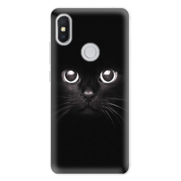 Silikonové pouzdro iSaprio - Black Cat - Xiaomi Redmi S2