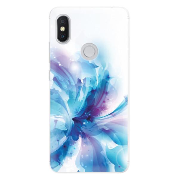 Silikonové pouzdro iSaprio - Abstract Flower - Xiaomi Redmi S2